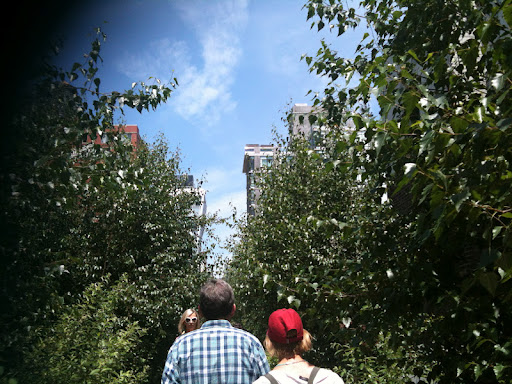 The Chelsea Thicket on The High Line.