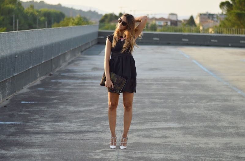 LBD, Little Black Dress, Little Black Dress Outfit, Party Outfit, Disco Outfit, Fashion Blogger, Black dress outfit, LBD fashion blogger, Top Italian Fashion Blogger