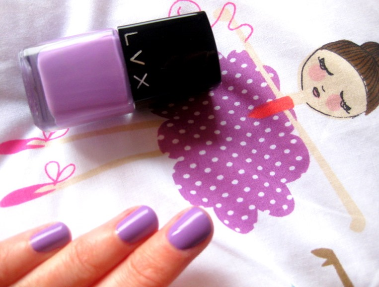 LVX-3-free-purple-lilac-nail-polish-Azalea-review
