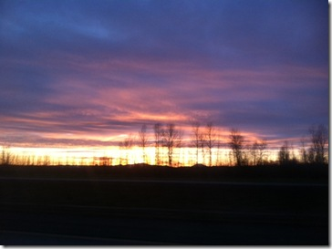 Eugene sunset 2.11.12