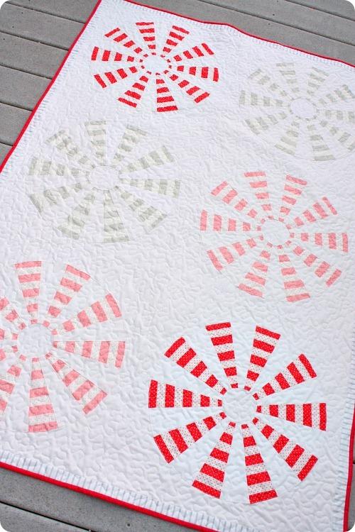 dresden pinwheel quilt tutorial