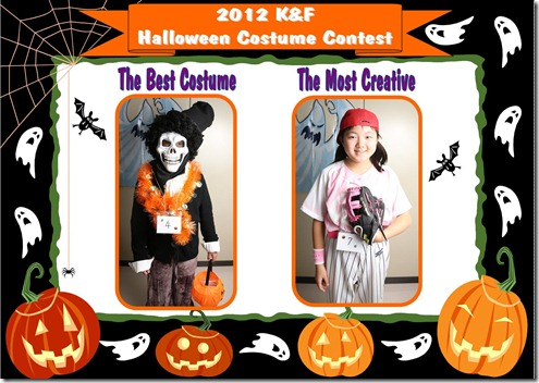 2012 Halloween Contest -  Tue -2
