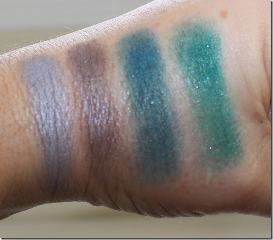 Sephora Pantone Shadows swatch 2