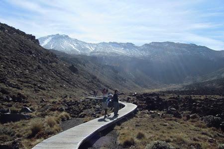 Tongariro Corssing, prin zona inca usor de strabatut