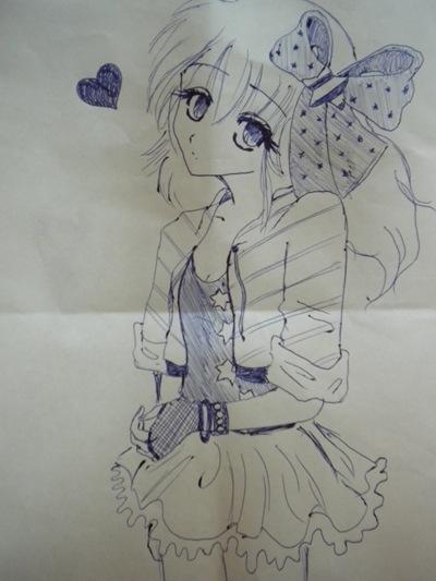 Dibujo de Yolanda P.