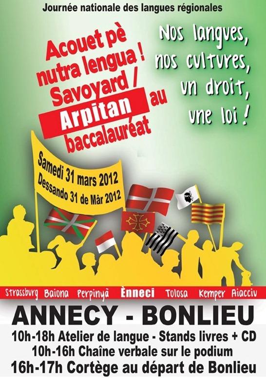 Ènneci manifestacion del 31 de març