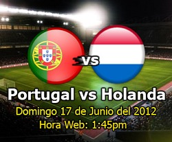 Portugal vs Holanda en VIVO online