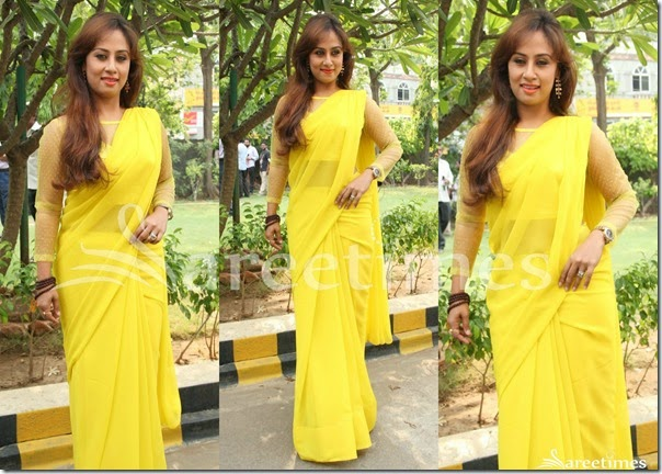 Yellow_Georgette_Saree