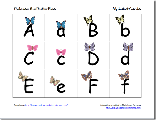 homeschooling hearts minds free butterfly preschool printables. Black Bedroom Furniture Sets. Home Design Ideas