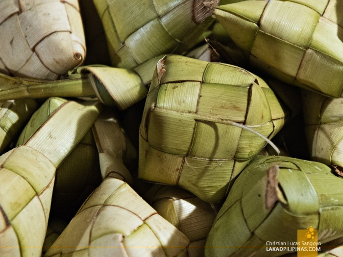 Puso, Steamed Rice Wrapped in Leaves