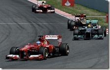 Alonso ha vinto il gran premio di Spagna 2013