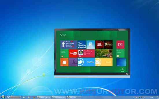 Windows 8 di WIndows 7