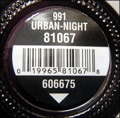 China Glaze Urban Night