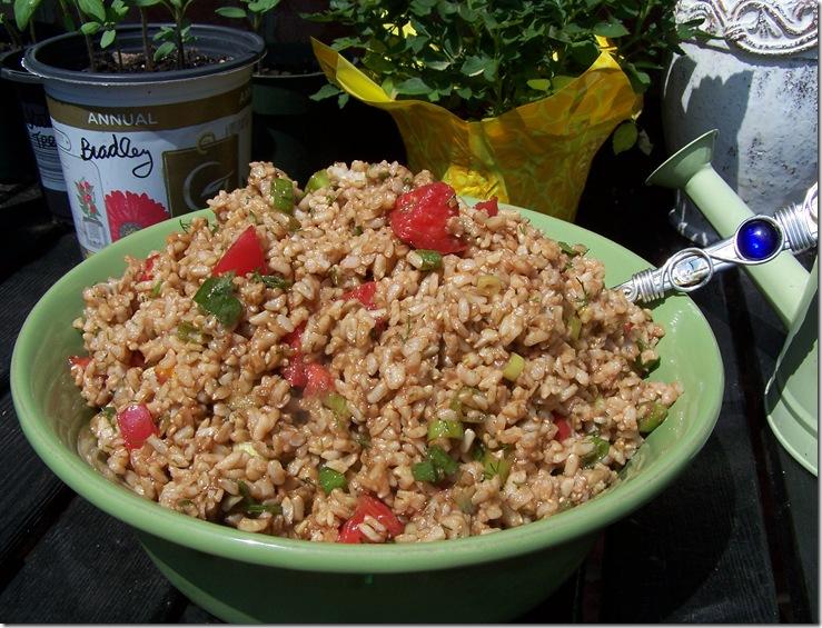 Brown Rice Salad 009