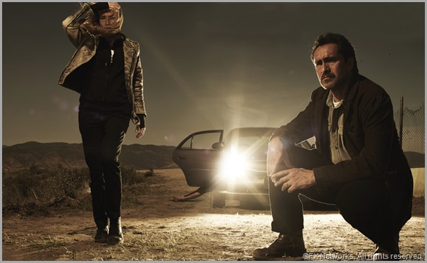 Diane Kruger and Demián Bichir play detectives on the hunt for a serial killer in THE BRIDGE. CLICK to visit the official show site.