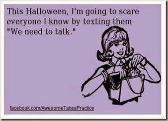 halloween-we need to talk