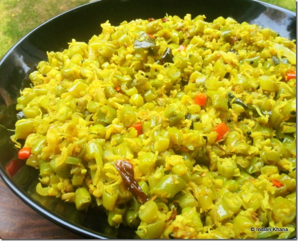 Easy Beans Thoran Poriyal Onam Sadya recipe