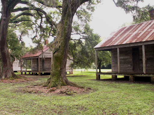 Slave Quarters, Evergreen Plantation, Edgard, Louisiana.