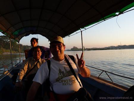Intre Laos si Thailanda pe barca