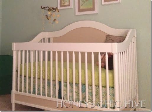 Gender Neutral Nursery Baby Crib furniture