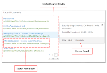Dinushas blog introduction to sharepoint 2013 search display templates as i mentioned in the above diagram a search web part can have three main components they are 1 control search results maxwellsz