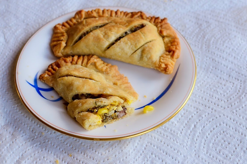 corn and kale sausage hand pies-13