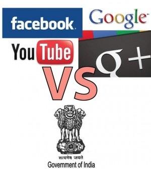 Η Ινδία λογοκρίνει Google, Blogger και Facebook