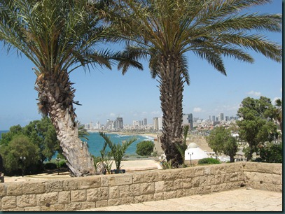 Jaffa - view of Tel Aviv from Jaffa