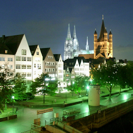 Cologne by Dominic Jacob - City,  Street & Park  Historic Districts ( cologne, koeln, old, germany, town )