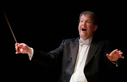 IN PERFORMANCE: Maestro Antony Walker conducts Washington Concert Opera's performance of Richard Strauss's GUNTRAM [Photo by Don Lassell, © by Washington Concert Opera]