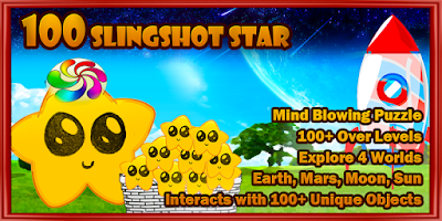 Screenshot of 100 Slingshot Star