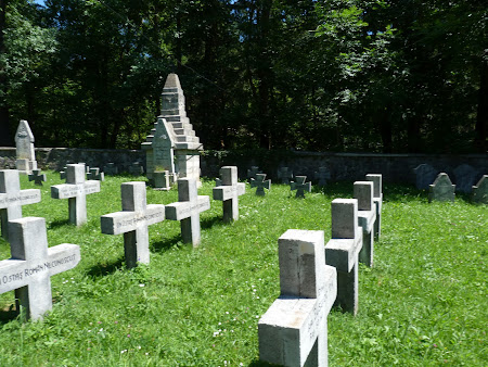 Cimitir Sinaia: morminte romanesti si unguresti