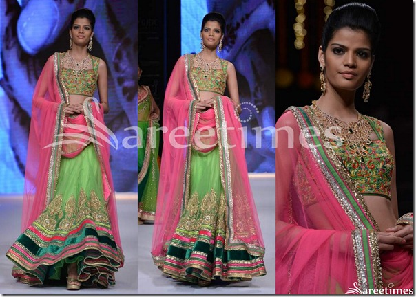 Day_3_IIJW_Green_Lehenga