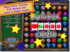 وضع البوكر الموجود بلعبة Bejeweled