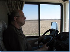 4286 Bill driving motorhome to Bronte Creek Provincial Park