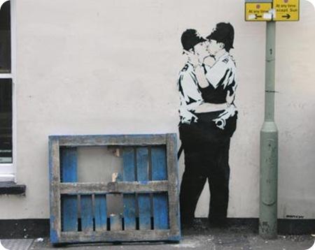 Bansky-grafitti-policia