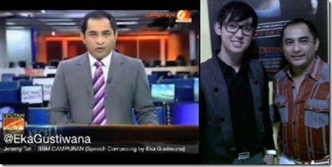 Video Jeremy Teti Nyanyi BBM CAMPURAN by Eka Gustiwana