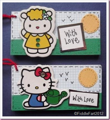 hello Kitty Gift tags.