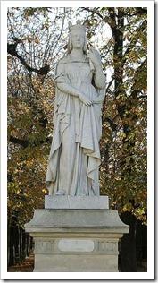 st bathildis statue