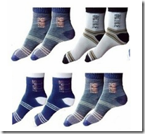 Flipkart : Buy RHF Men's Striped Ankle Length Socks at Rs. 130 only (Pack of 4)