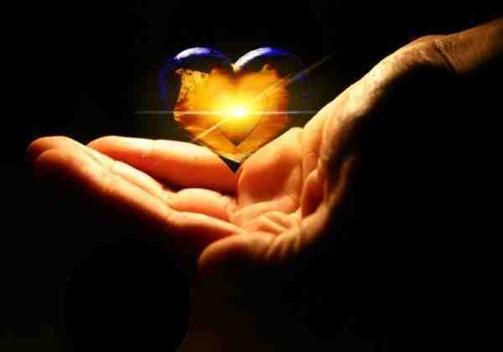 Gratitud - mà amb un cor