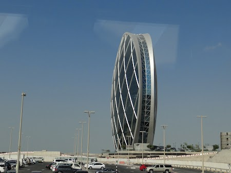 Cladirea cerc din Abu Dhabi