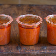 White Wine Marinara Tomato Sauce Recipe for Canning
