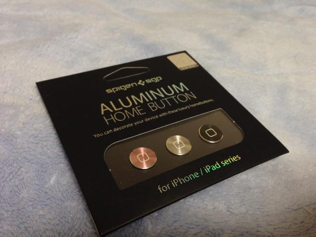 アルミニウムホームボタンだ