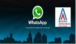 reliance whatsapp