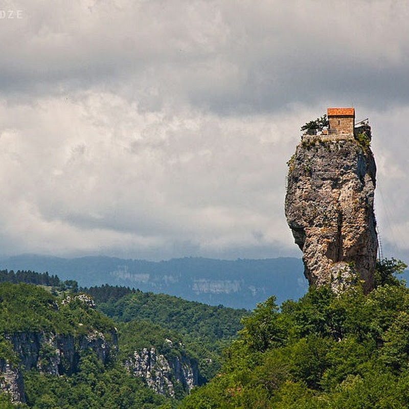 The Katskhi Pillar, Georgia