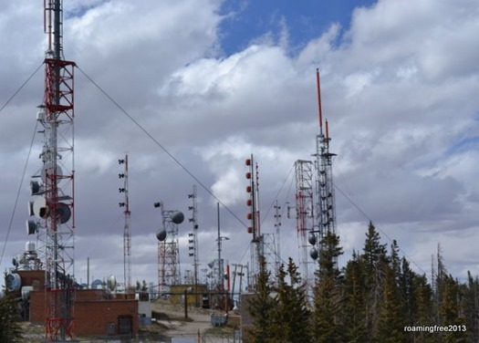Radio Towers at the peak