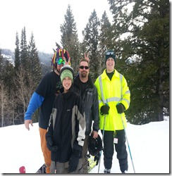 geocaching ski crew