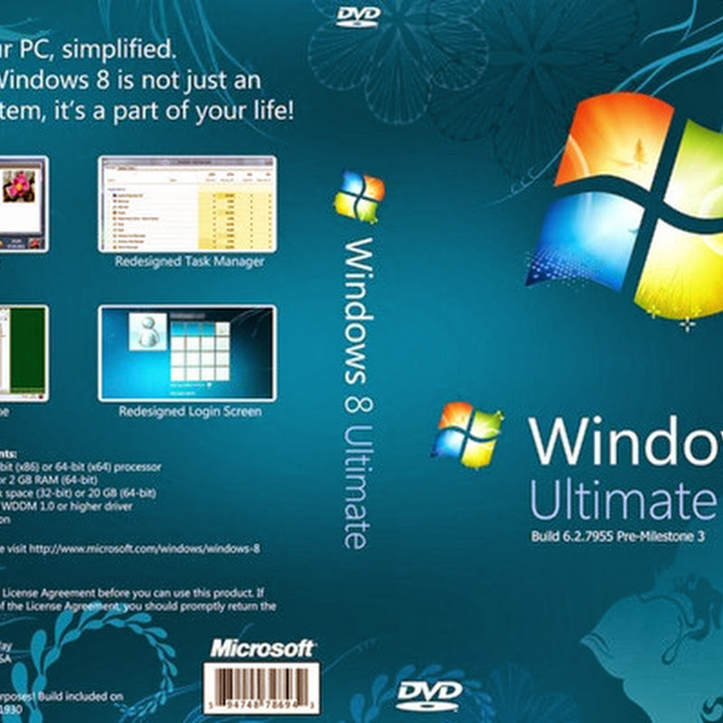 Windows 8 Pro Full Version free download with Activator/Crack
