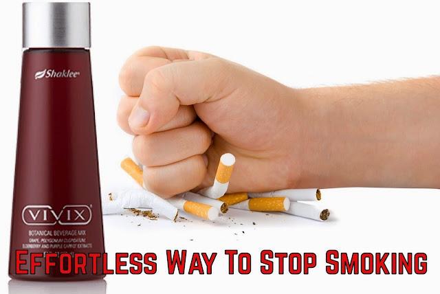 vivix hentikan merokok